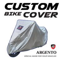 Yamaha New Vixion / Vixion KS SE Cover/Sarung Selimut Motor Argento - Silver