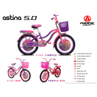 "Sepeda Mini / CTB PACIFIC 20"" ASTINA 5.0"