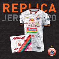Jersey Replica Away Kit Player White 2020