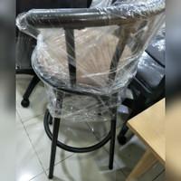 Kursi Besi/ Bangku Bar Cafe Tinggi Bisa Putar (Bekas)