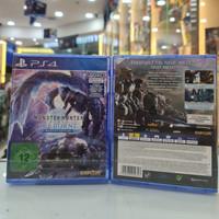 kaset ps4 monster hunter world iceborne master ed reg2