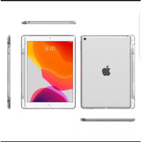 Ipad 8 10.2 Softcase Silicone Case With Pencil Clear Spen