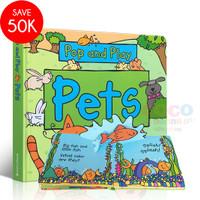 Pop Up 3D Board Book Pop And Play PETS Buku Cerita Anak