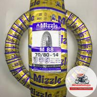 Mizzle M88 70/80-14 Ban Motor Matic Tubeless + Pentil