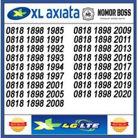NOMOR CANTIK XL 4G 0818 1898 19XX - 20XX