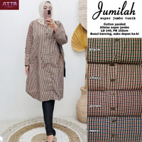Baju Atasan Wanita Blouse Muslim Jumila Super Jumbo Tunik