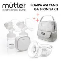 MUTTER KRYSTAL Pompa ASI Elektrik + HANDSFREE + Tas ASI Brea BUNDLING