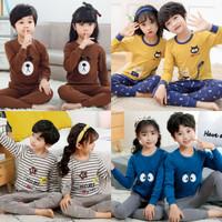 Baju Tidur Piyama Anak Import Laki Perempuan Bisa Couple