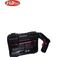 Cordless Screwdriver set 4,2v 47pcs - obeng baterai set 47pcs by JLD