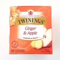 Twinings Ginger & Apple 10 Tea Bags