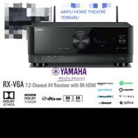 Ampli Yamaha RX V6A 7.2 channel AV Receiver with 8K Hdmi DTS HD