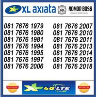 NOMOR CANTIK XL 4G 081 7676 19XX - 20XX TAHUN 11 DIGIT