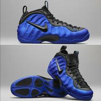 Sepatu Nike Air Foamposite Pro Blue Black