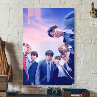 Wall Decor Poster Pajangan Hiasan Dinding Pop Art BTS - BTS201