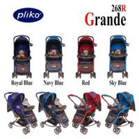 Pliko Grande 268 kereta dorong bolak balik bisa ayun stroller bayi
