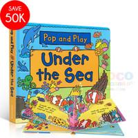 Pop Up 3D Board Book Pop And Play UNDER THE SEA Buku Cerita Anak