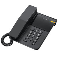 Alcatel Single Line Telephone Analog Telepon T22 Hitam