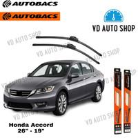 Wiper Mobil Honda Accord CP 26 & 19 Frameless 1 SET Autobacs
