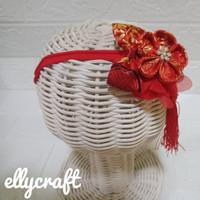 Bandana bayi/headband imlek/cny