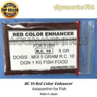 Astaxanthin Astaxantin RC10 5g red warna Pigmen merah ikan koi arowana