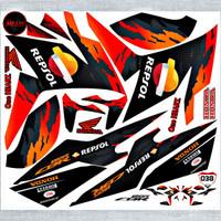Decal Sticker Striping Variasi Honda CBR 150 R 2017-2020 REPSOL