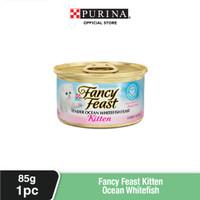 FANCY FEAST Kitten Ocean Whitefish Makanan Basah Anak Kucing 85gr