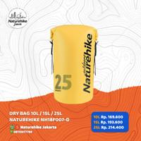 DRY BAG 10L / 15L / 25 NATUREHIKE NH18F007-D TAS ANTI AIR WATERPROOF