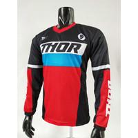 kaos jersey sepeda thor-baju kaos motor cross dwonhill