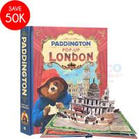 Pop Up 3D Board Book PADDINGTON LONDON Buku Cerita Anak