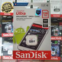 Memory Card MicroSD MIcro SD Sandisk Ultra Class10 128GB 128 GB 80mb/s