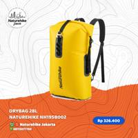NATUREHIKE DRYBAG 28L NH19SB002 DRY BAG TAS ANTI AIR WATERPROOF - Kuning