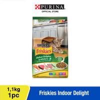 FRISKIES Adult Indoor Delights Makanan Kering Kucing Dewasa 1.1kg