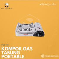 Cosmos - CGS 123 P Kompor Gas Portable 2 in 1