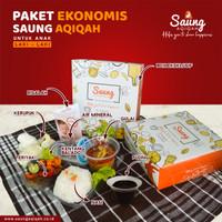 PAKET EKONOMIS AQIQAH ANAK LAKI-LAKI 100 BOX