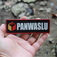 Patch Velcro Panwaslu Emblem Pemilu Tempelan Baju Kpu