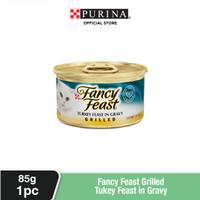 FANCY FEAST Adult Grilled Turkey Makanan Kucing Basah 85gr
