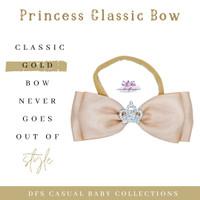 Little Princess Bow - Headband bayi Premium