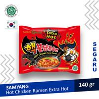 Mie Samyang Nuclear Extreme Extra Hot Chicken Pedas Ramen Halal MUI