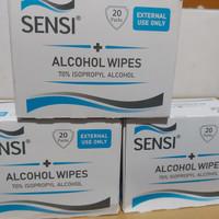 sensi alcohol wipes 70% isopropyl