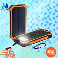 powerbank 20000mAh solar cell tenaga matahari