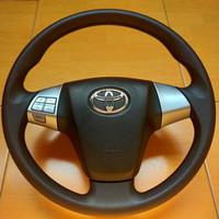 Stir Rush assy Steering Wheel Rush TRD GEN 1 Airbag aktif Warna hitam