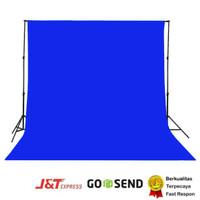 green screen Biru Benhur 75 gsm ,kain spunbond background back drop
