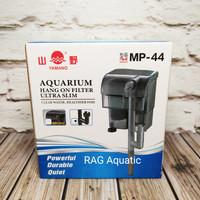 YAMANO MP 44 MP-44 MP44 401 Ultra Slim Hanging filter gantung aquarium