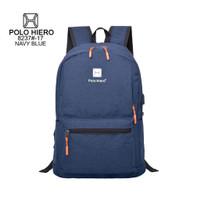 Readystock tas sekolah/kerja/kuliah Polo Hiero 8237 - Navy blue