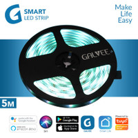 GALVEE Smart Led Strip Extension RGB 5M 5 Meter Wifi For Automation