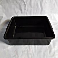 Bak Hidroponik / Baki / Bak Baskom Plastik Kotak Warna Hitam