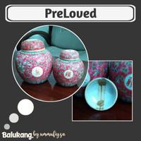 Keramik Set / Hiasan Meja / Guci Set