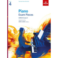Buku Piano Exam Pieces ABRSM 2021-2022 (Book) - Grade 4