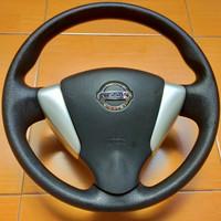 Stir assy Steering Wheel Nissan Grand Livina GEN 2 airbag aktif