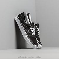 Sepatu Vans Era Checker Foxing Black True White ORIGINAL 100% BNIB